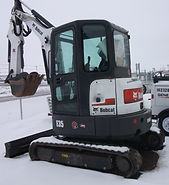 Rent Mini Excavator Bobcat E35 at B&B Rental in Sidney, MT