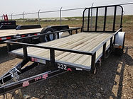 "Utility Trailers for Rent, 6'4"" x 14' Utility Trailer, GVWR 2,995#, B&B Rental, Sidney, MT"