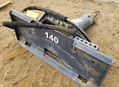 Skidsteer Jackhammer for rent, B&B Rental, Sidney, MT