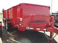 Rent Dump Trailers, B-B 6' x 14', 3' sides, B&B Rental, Sidney, MT