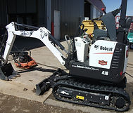 Rent Bobcat Mini Excavators at B&B Rental in Sidney, MT