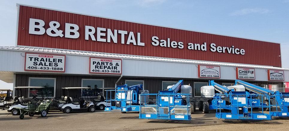 B&B Rental Sidney, MT Equipment Rental Store