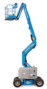 Genie Boom Lifts for rent at B&B Rental in Sidney