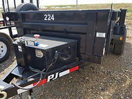 Rent Dump Trailers, 5' x 10' PJ Dump, B&B Rental, Sidney, MT
