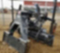 Bobcat Skidsteer Laser Grader for rent, https://www.bbrental.com/skid-steers, Sidney, MT