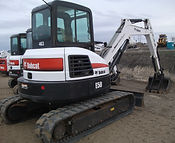 Mini Excavator Bobcat E50 for rent at B&B Rental