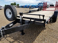 Rent Flatbeds, 16' Tilt 4' Stationary, GVWR 14K, B&B Rental, Sidney, MT