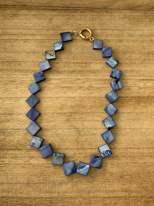 Chocker de Madrepérola Azul
