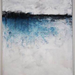 80 x 100 cm, Acryl på lærred