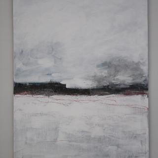 60 x 80 cm, Acryl på lærred