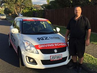 Driving School Manual Car