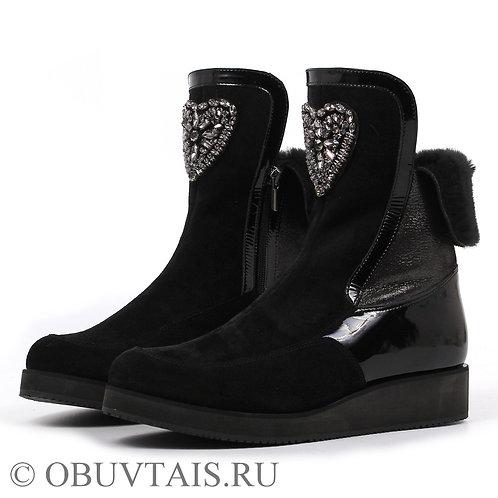 Обувь большого размера женская