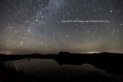 鏡の摩周湖