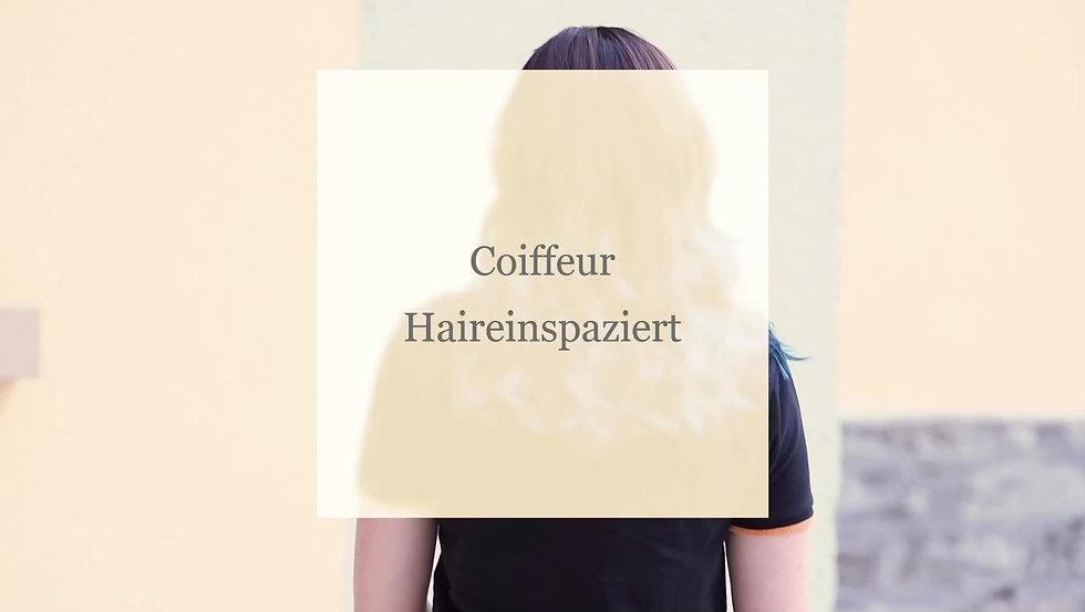Das Team vom Coiffeur Haireinspaziert bei Cindy stellt sich vor.