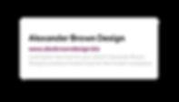 SEO header and description for Alexander Brown Design's website.