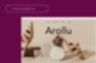 Custom Domain name for a shoe website called Arollu.