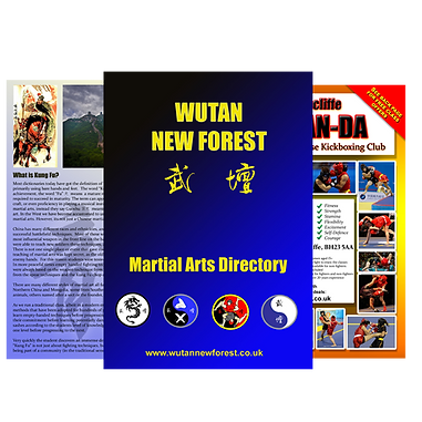 Wutan New Forest Martal Arts Directory. Read the history ofW Wutan, Tai Chi, Kung Fu and Chinese Kickboxing