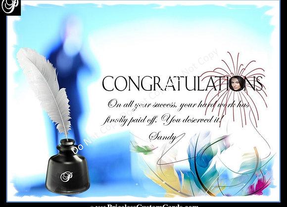 Biographer Congrats E-Card