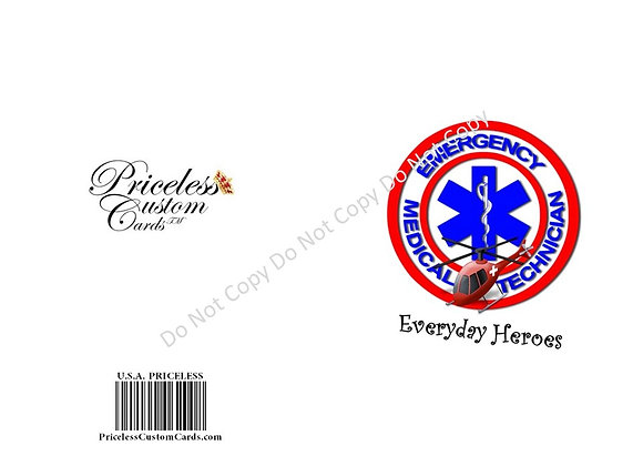Thank A EMT Card