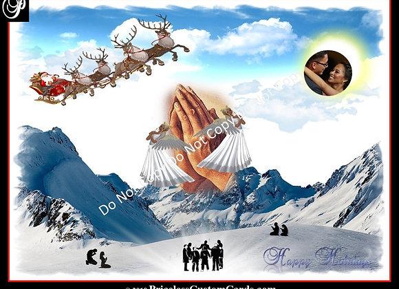 Prayer Mountain Card