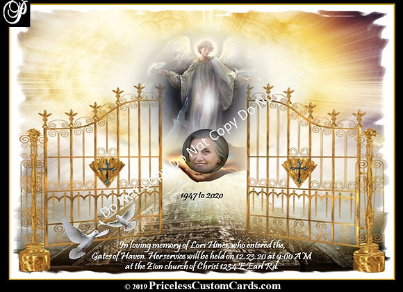Heaven's Gate Passing E-Card