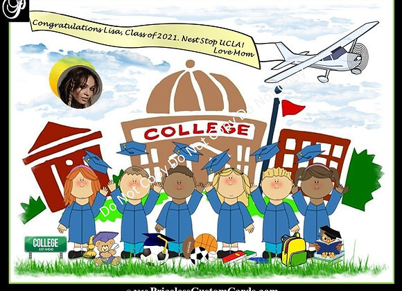 Flying High Graduate E-Card