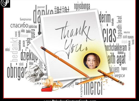 A Simple Thank You E-Card