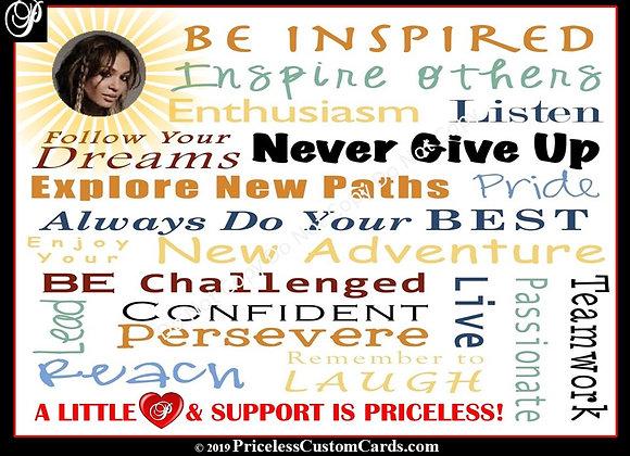 Inspiring Words Inspire E-Card