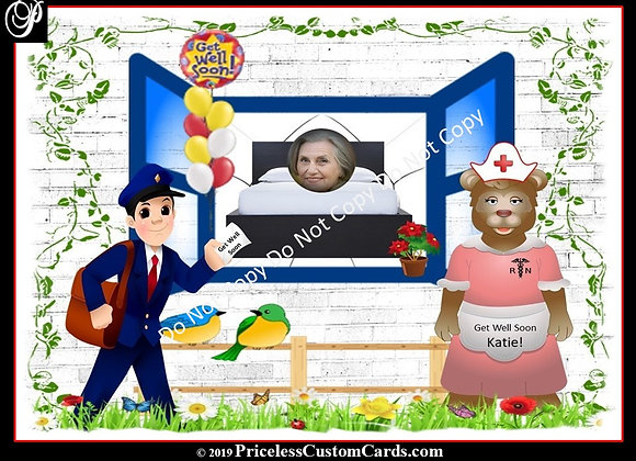 Happy Days Get Well Soon E-Card