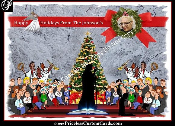 Christmas Service Holiday E-Card