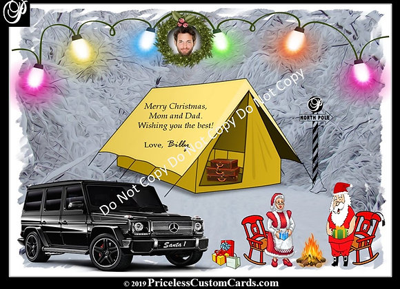 Santa's Chilling Card