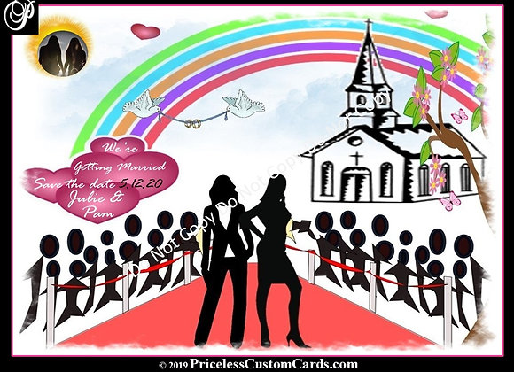LGBT To Us Save Date E-Card