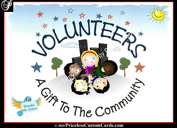 Thank A Volunteer E-Card
