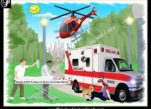 Thank A EMT E-Card