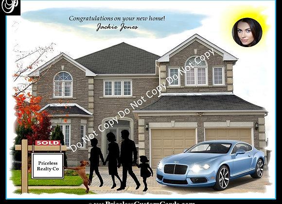 New Home Congrats E-Card