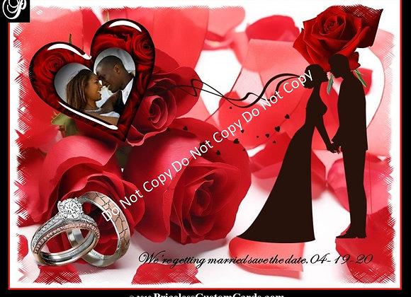 Mad Love Save Date E-Card