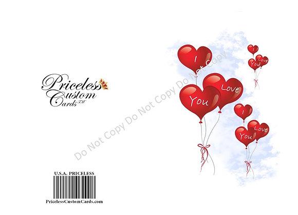 My Heart Valentine's Card