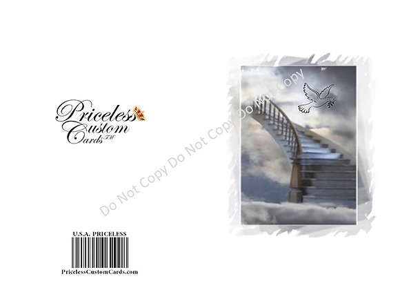 Stairway To Heaven Passing Card
