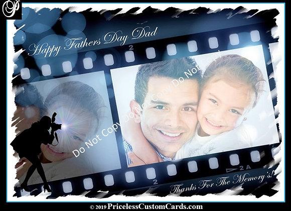 Memories Father's Day E-Card