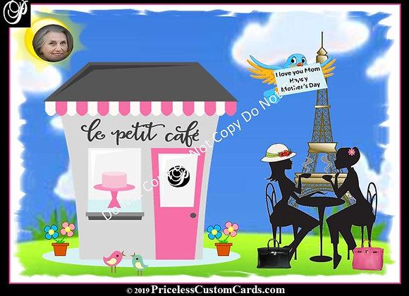 Tea In Paris Mother's Day E-Card