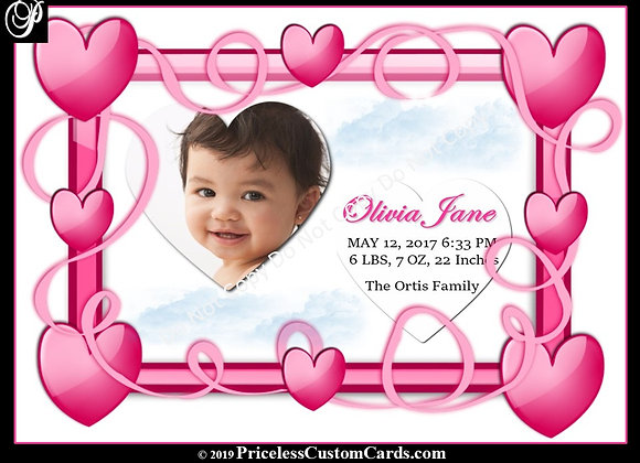 My Heart Baby Arrival E-Card