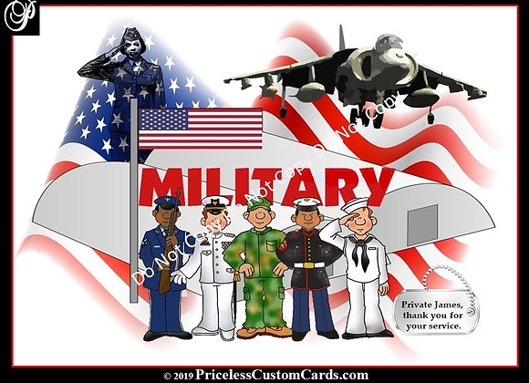 Thank A Serviceman/Woman E-Card