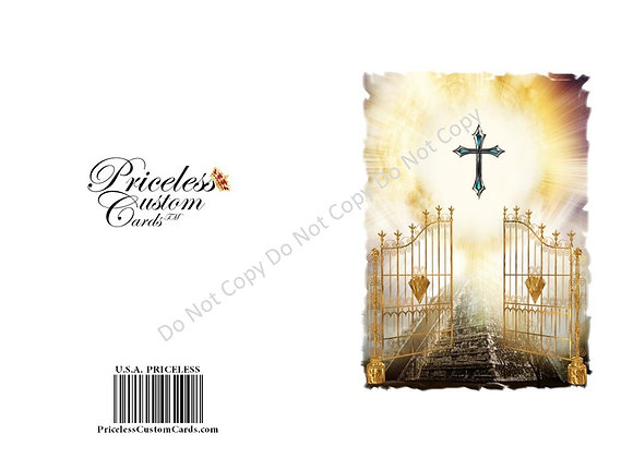 Heaven's Gate Passing Card
