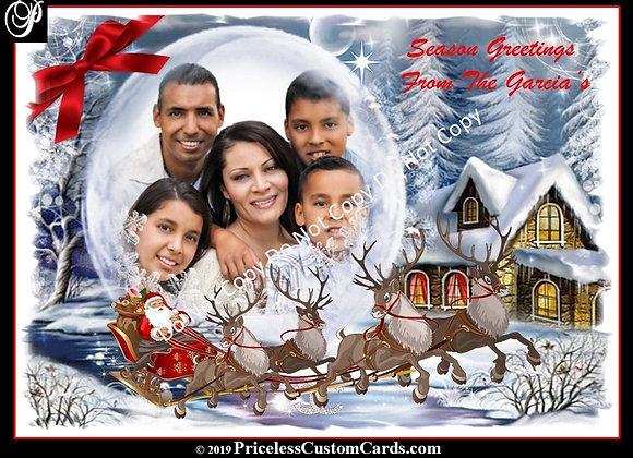 Snow Dome Holiday E-Card