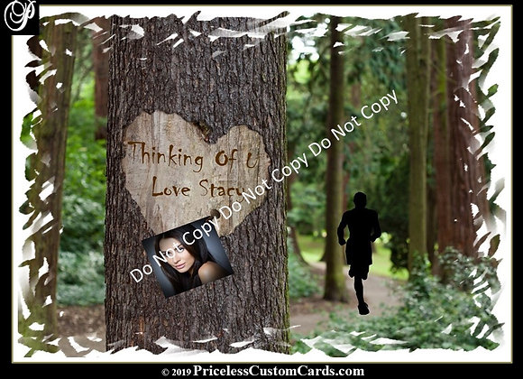 Love Tree Thinking Of U E-Card
