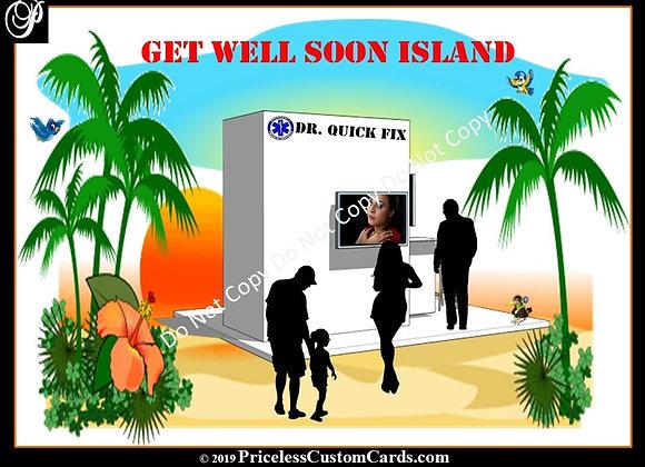 Quick Fix Get Well Soon E-Card