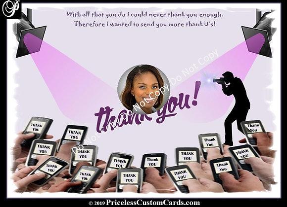 More Thank U's E-Card