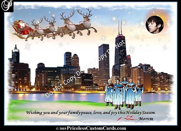 Chi-Town Santa Card