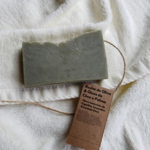 Sabonete natural de argila