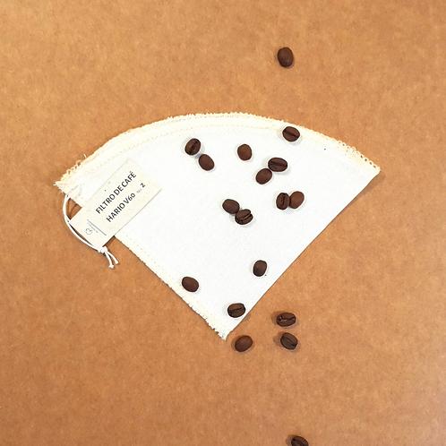 Filtro de café HARIO V60 (1 unidade)
